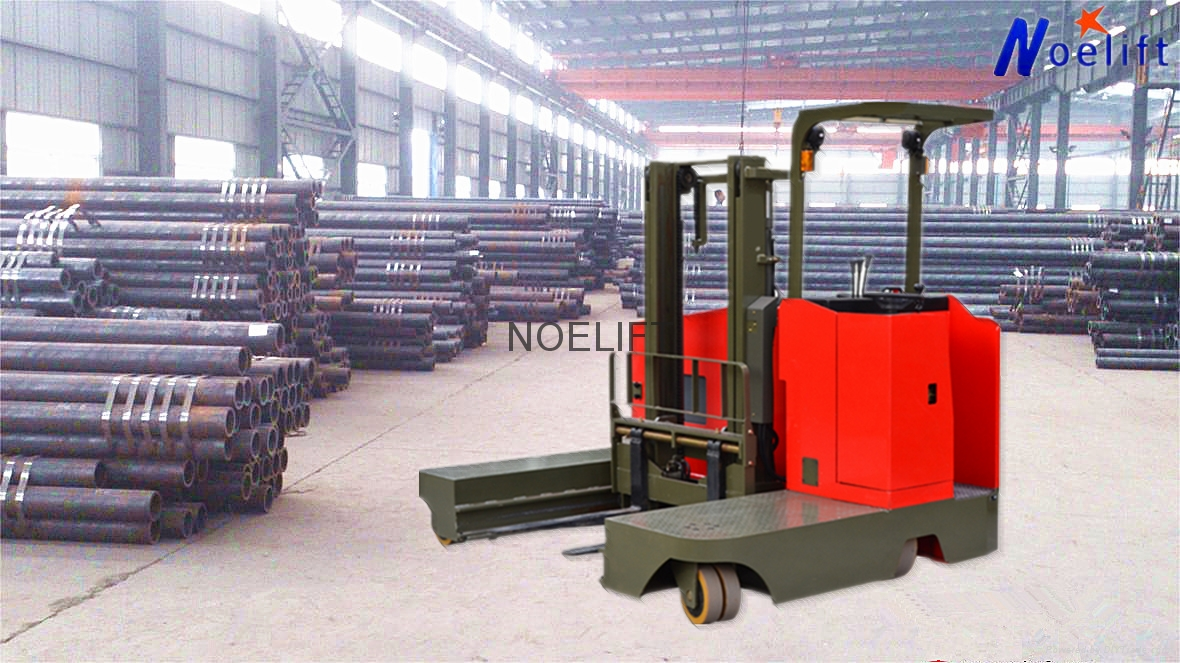 side loader electric reach stacker 5