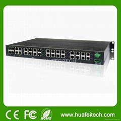 Managed 1000M 28 Ports Ethernet Switch with 1URack