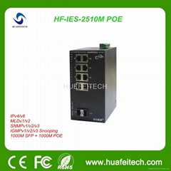 Economic Enhanced POE Ethernet Switch with 10 Gigabit Ports