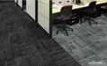 PVC防火方块地毯