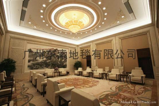 广州羊毛手工地毯 1
