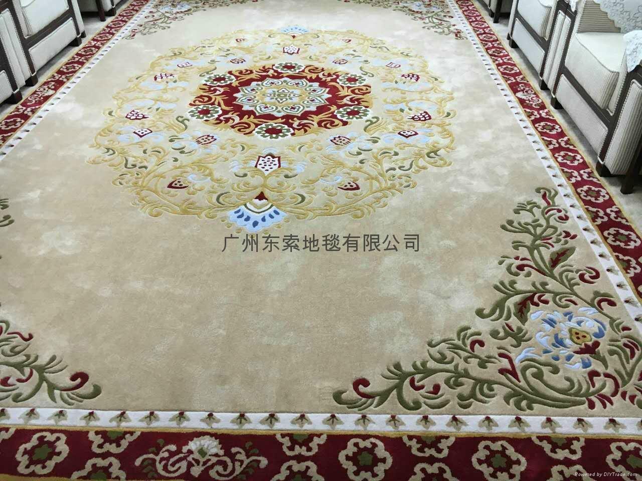 广州羊毛手工地毯 4