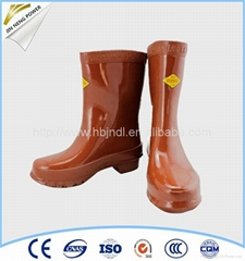 Made in China 25kv Rubber Safety Boots