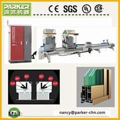 aluminum window door making machinery cutting saw
