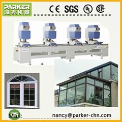 UPVC&PVC Window Door Making Machine Four Heads Seamless Welding Machine