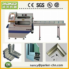 CNC aluminum window coner key cutting saw window-door making machinery