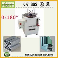Aluminum  pvc  Profile single head cutting saw machine