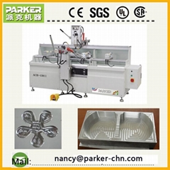 aluminum profile processing machine high speed double axis copy router