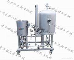 LXYP 圓盤式硅藻土過濾機 液態制品專業過濾設備
