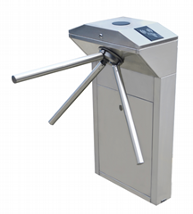 Tripod turnstile with RFID card,fingerprint and facial recongnition