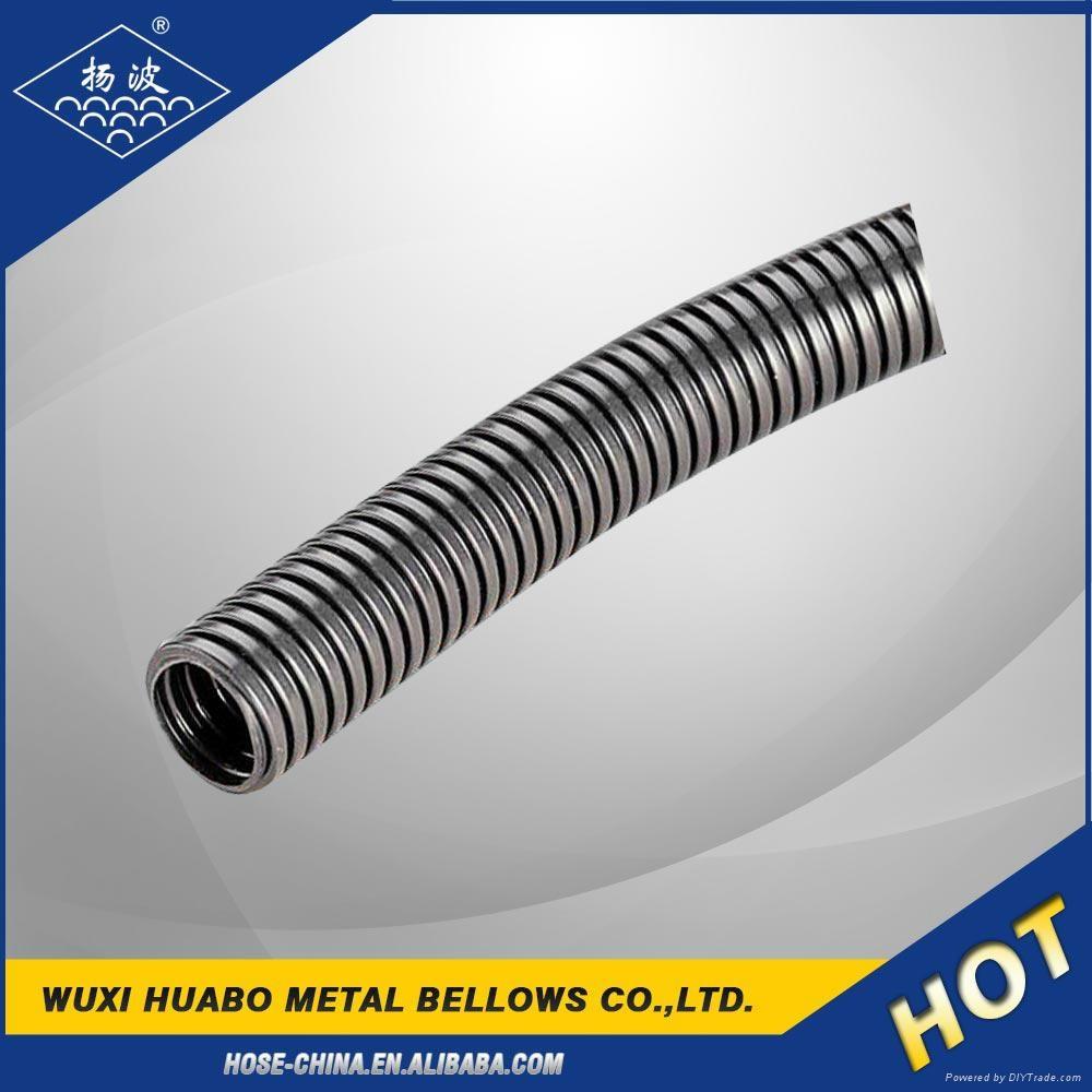 Stainless steel flexible conduit pipe tube ybb huabo