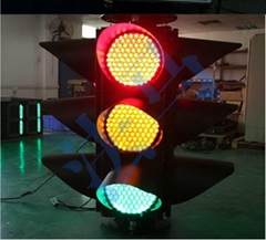 300mm four sides cobweb lens led traffic lights on sale