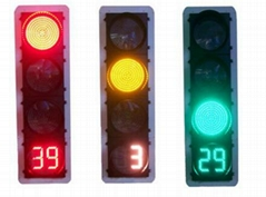 400mm 4 aspects full ball countdown timer LED Traffic Signal