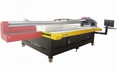High Resolution 2.5m Large Flatbed UV Ink Printer