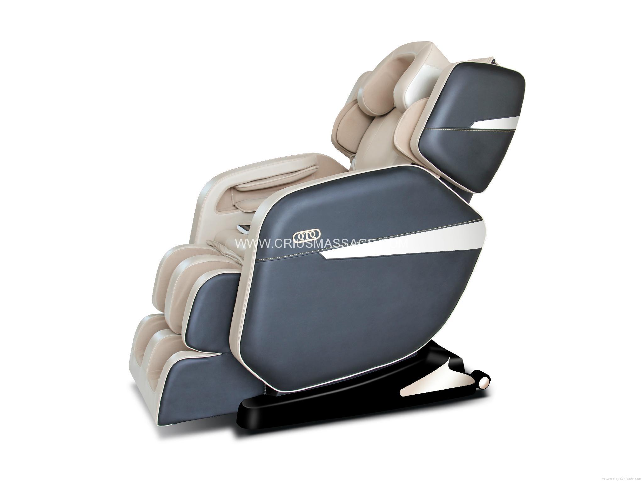 Top Quality Kneading Shiatsu Office Massage Chair