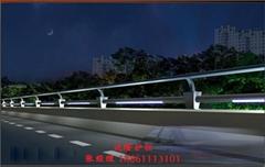 304不锈钢圆管景观桥梁防撞护栏
