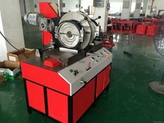 TSD315G workshop hdpe pipe fitting welding machine