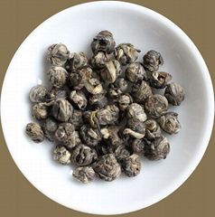 Authentic Jasmine Dragon Pearls organic China green tea