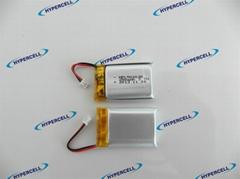 海盛HPL502030 3.7v 250mah小容量蓝牙设备锂电池