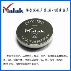 厂家直销 高品质扣式锂锰电池CR2032