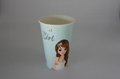 Customized Logo 16oz Disposable cup paper cup 5