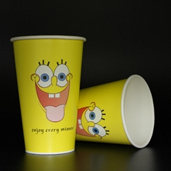 Wholesales 450ml Disposable cup paper cup