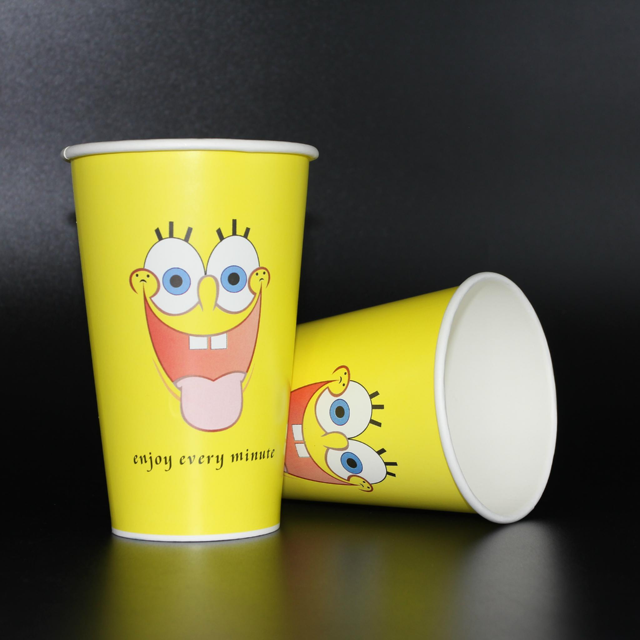 Wholesales 450ml Disposable cup paper cup 4