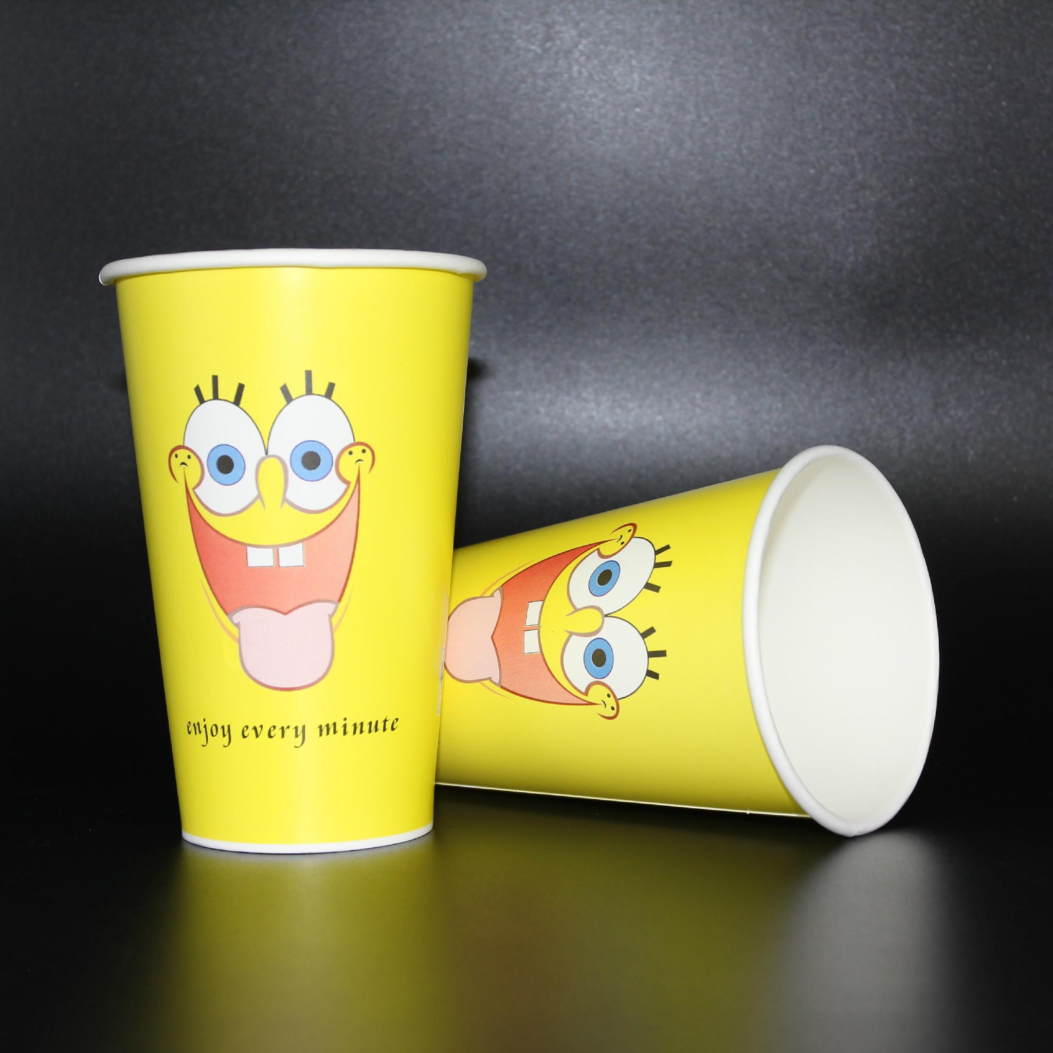 Wholesales 300ml tea cup paper cup 5