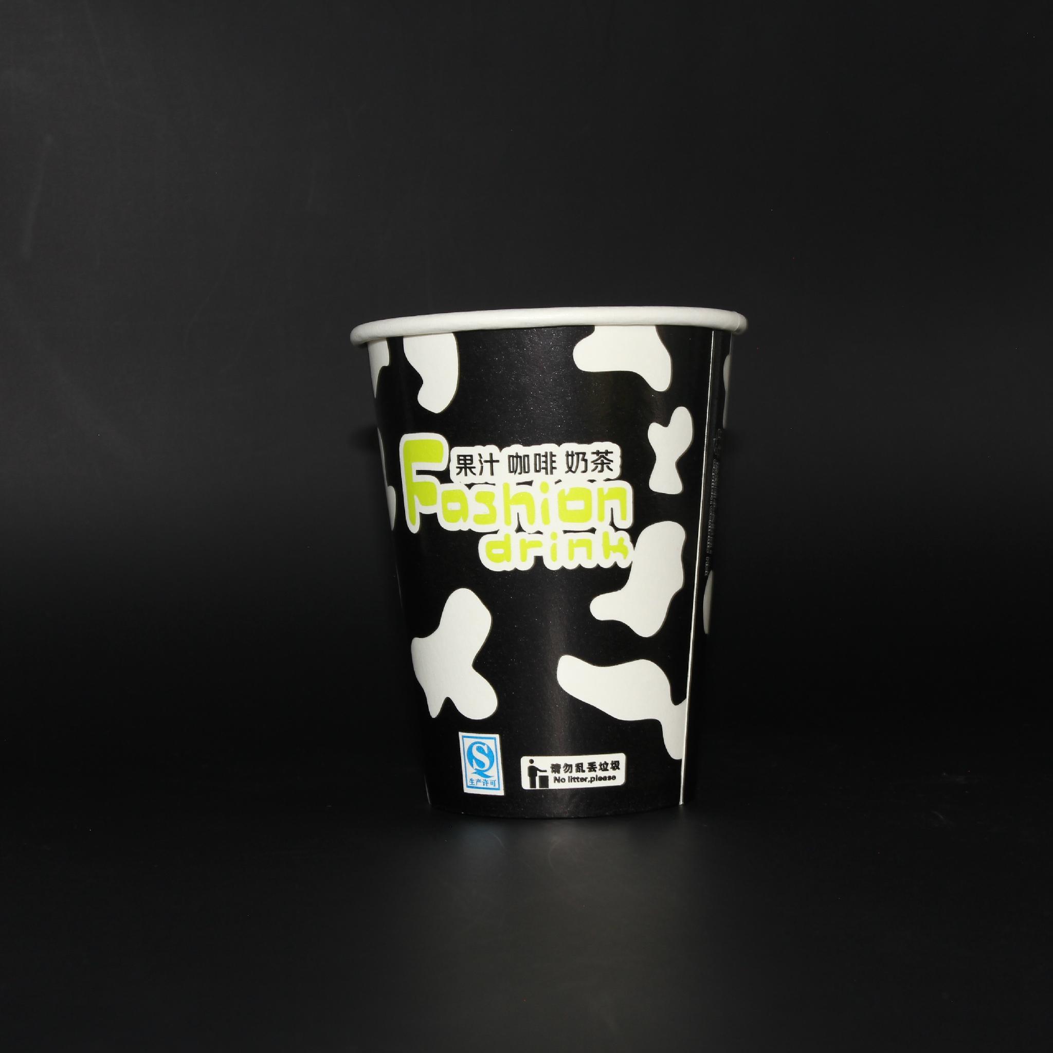 12oz tea cup paper waxed paper cup 3