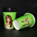 Beverage Use and Paper Material A fast food restaurant paper cups 2