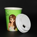 Beverage Use and Paper Material A fast food restaurant paper cups 4