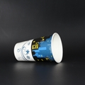 Single Wall Paper Packing Cup For Ice Cream With Lid 3
