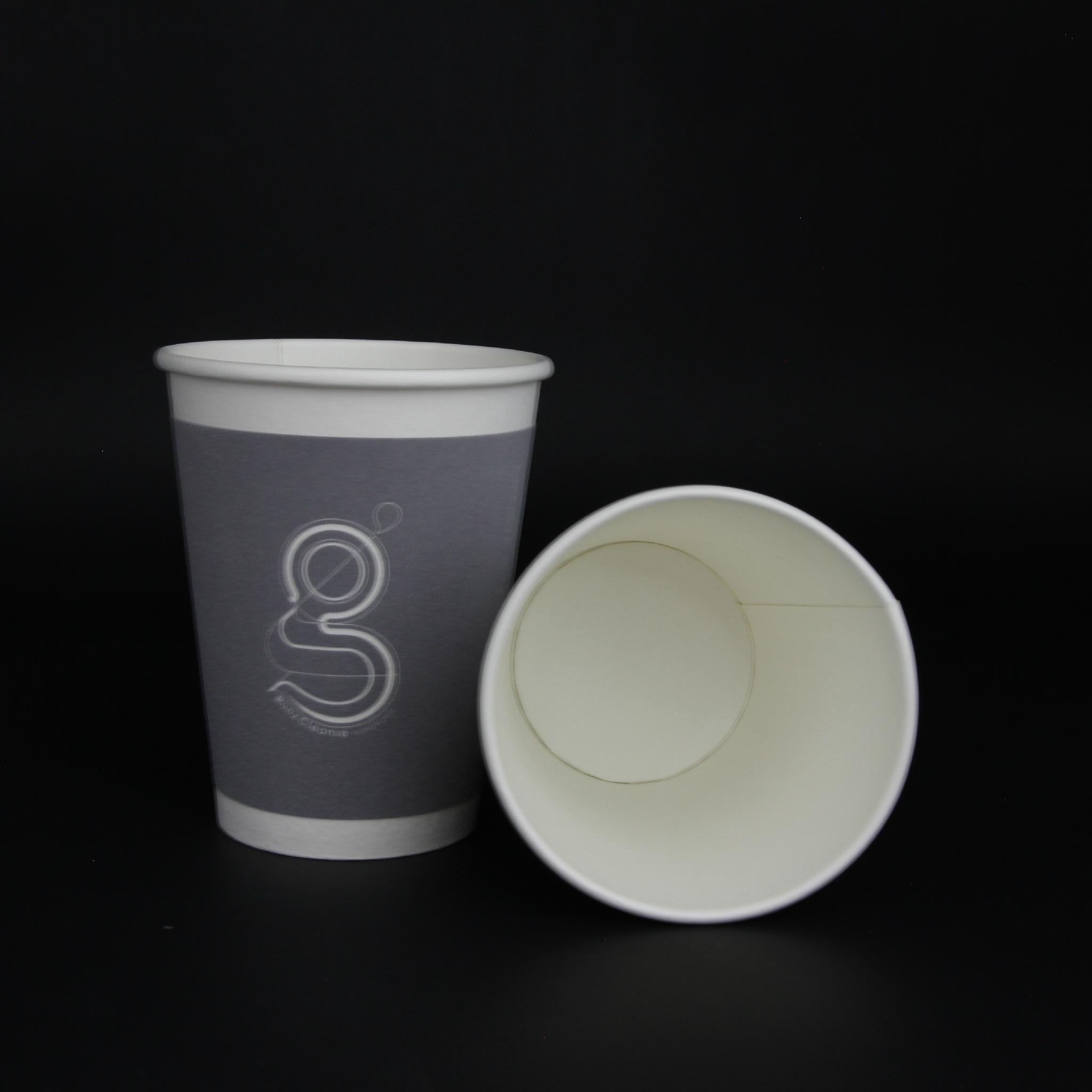 12oz kraft paper cup paper waxed paper cup 1