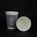 12oz kraft paper cup paper waxed paper