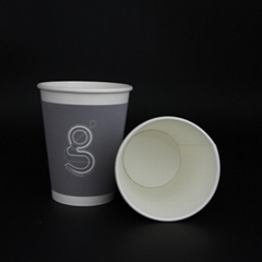 12oz kraft paper cup paper waxed paper cup