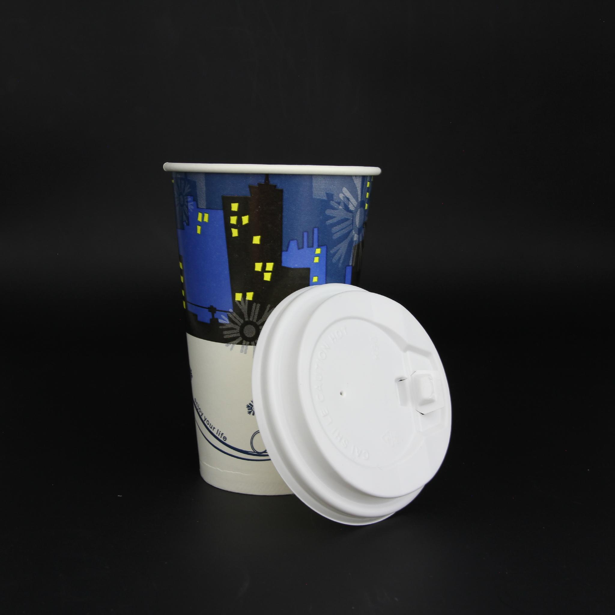 12oz kraft paper cup paper waxed paper cup 2