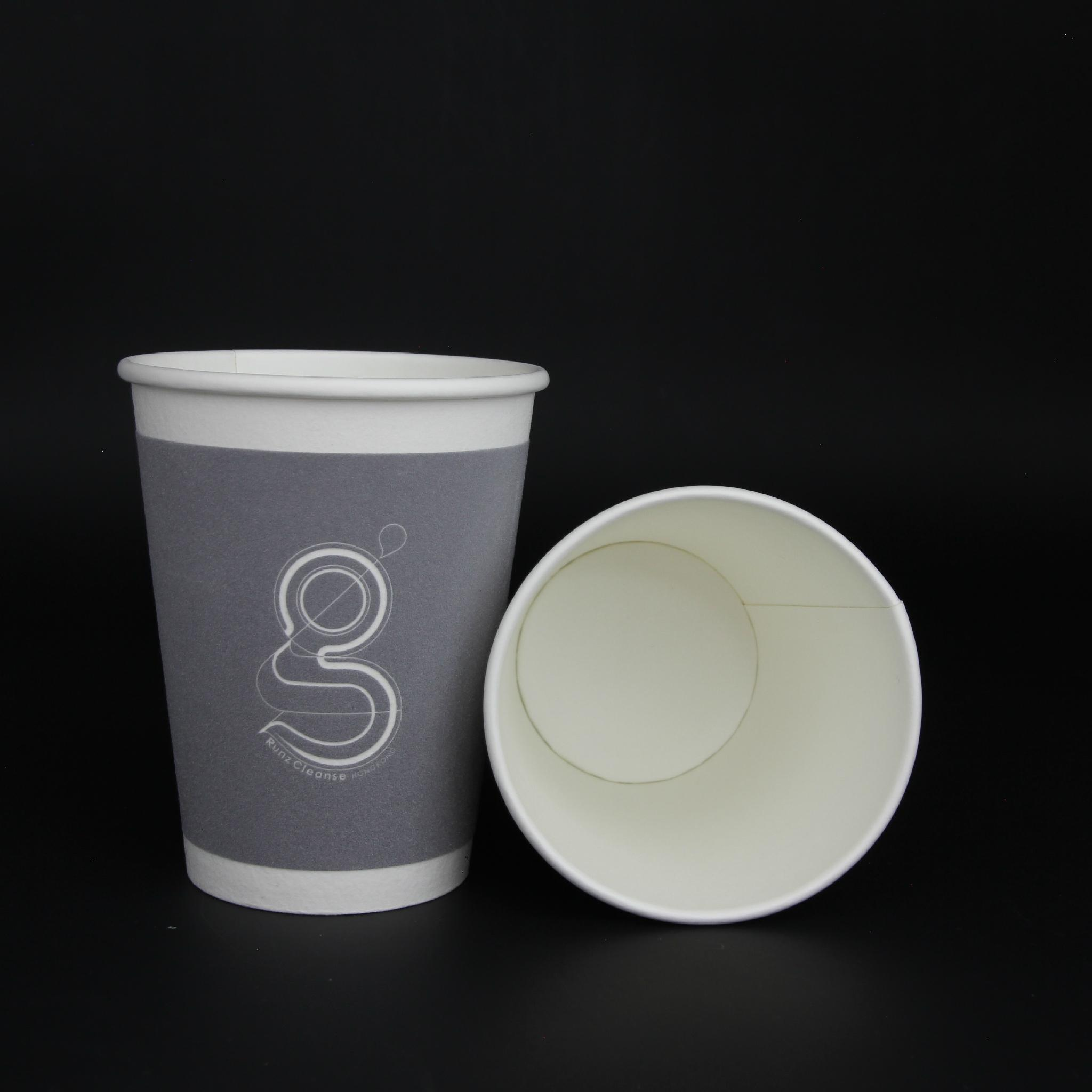 12oz kraft paper cup paper waxed paper cup 4