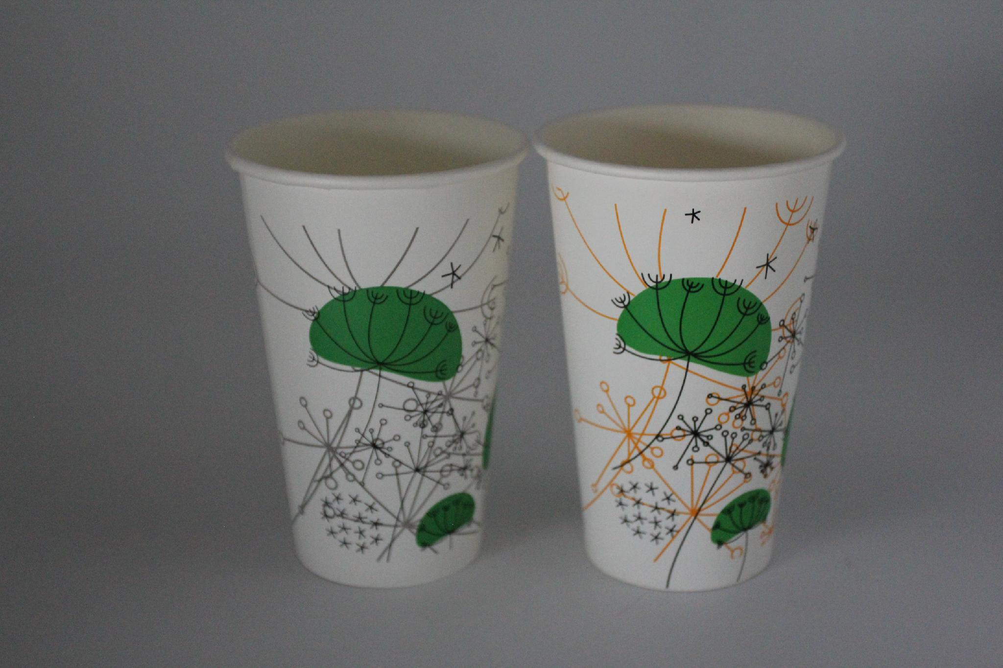 22oz disposable cups and kraft paper cup 4