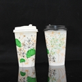 7oz Pla Coated Paper Hot Water Cup 3