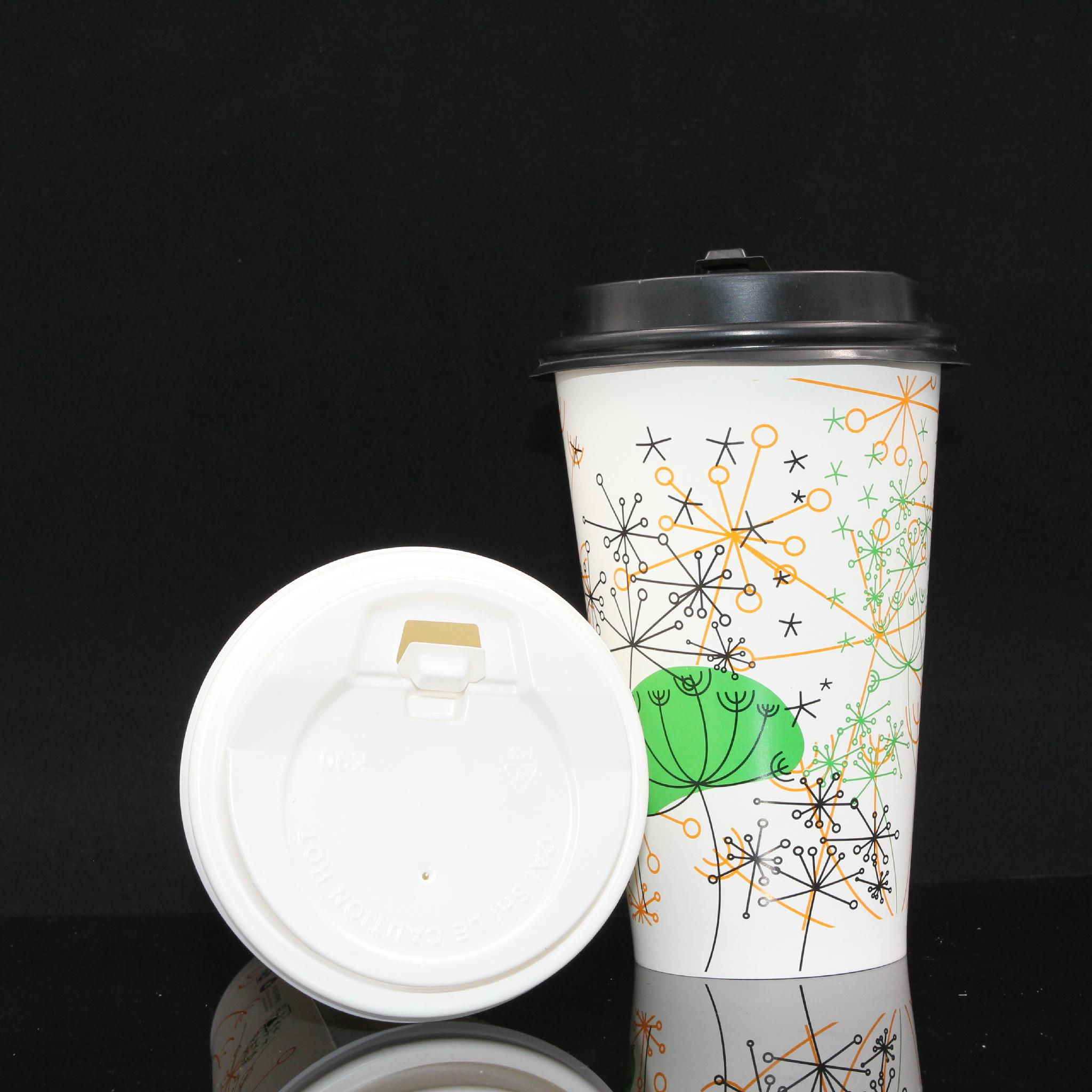 7oz Pla Coated Paper Hot Water Cup 5