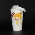 Wholesales kraft paper cup 600ml ice