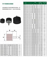 供應BKVE型橡膠式減震器