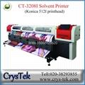 CrysTek CT-3208I konica 512I solvent printer 1440dpi large format printing