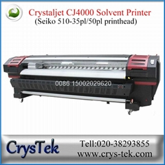 CrysTek CJ4000 Crystaljet large format printer with Seiko 510 printhead