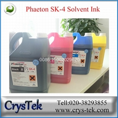 Phaeton  seiko 35pl sk4 solvent ink for Phaeton solvent printer