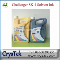 Challenger solvent printer printing ink for seiko 510 35pl head