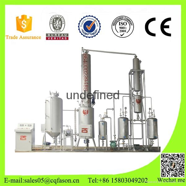 Latest technology used oil purification system 1