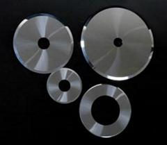 Carbide razor blade for film