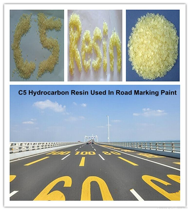 C5Hydrocarbon Resin Used In Road Marking Paint China Factory 2