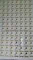 electroforming nickel sticker, Foil Self Adhesive Sticker